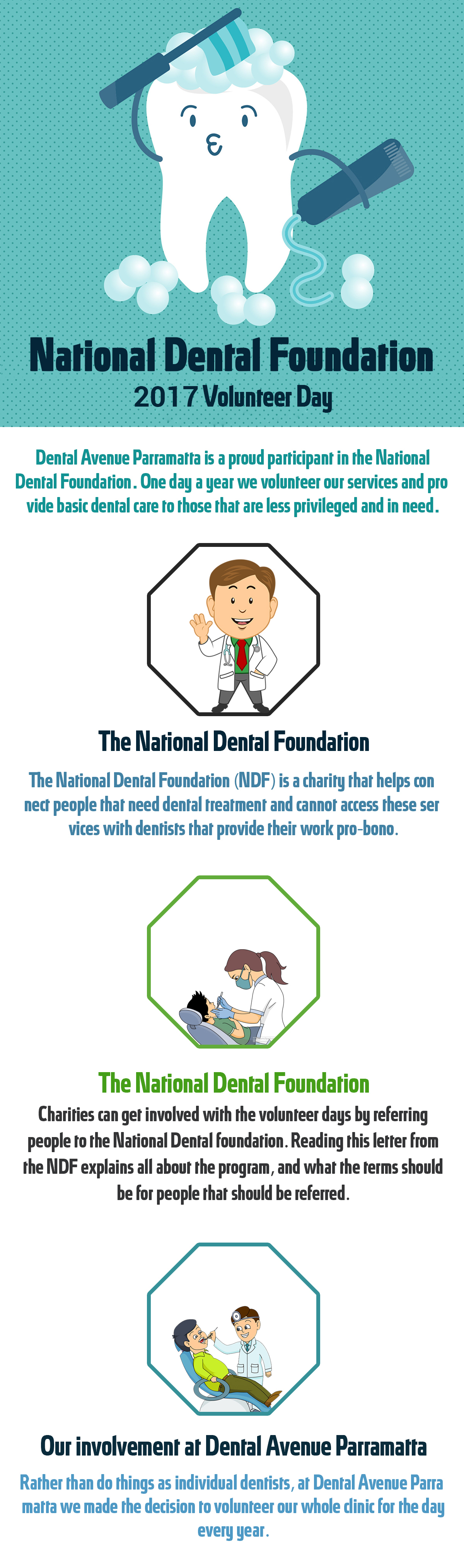 National Dental Foundation 2017 Volunteer Day