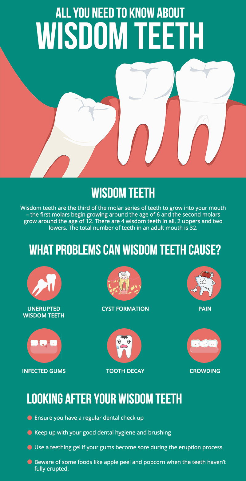 All You Need To Know About Wisdom Teeth