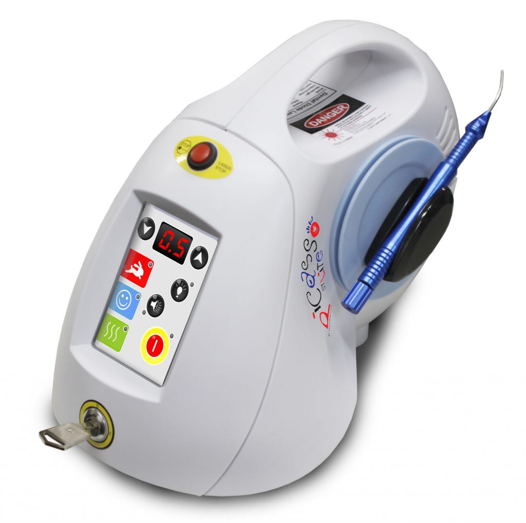 Laser dentistry machine